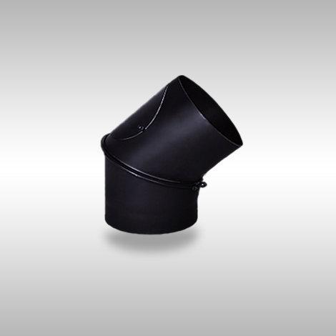 black-steel-elbow-45